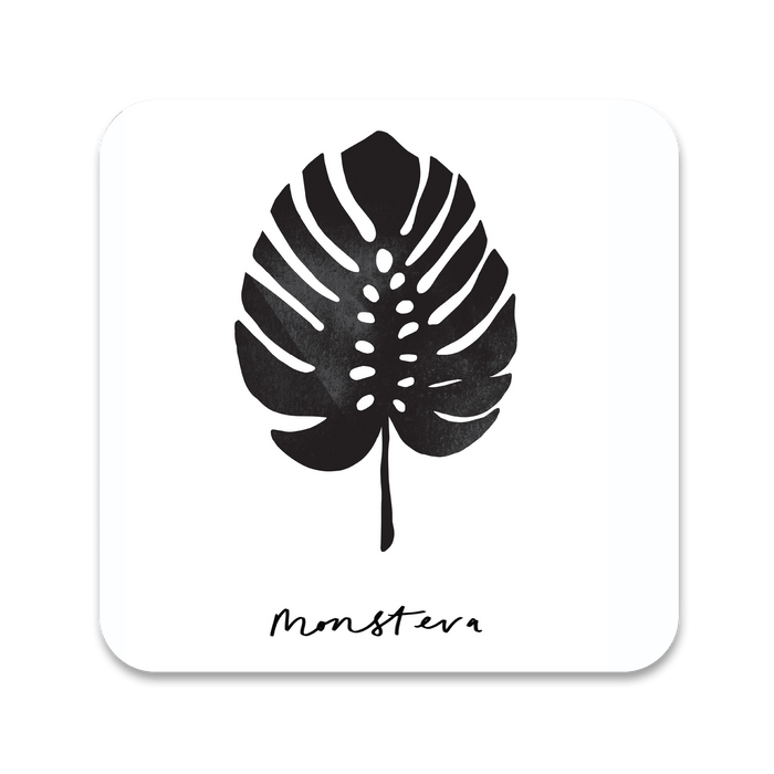Monstera Leaf Coaster