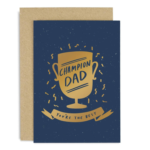 Champion Dad Copper Card
