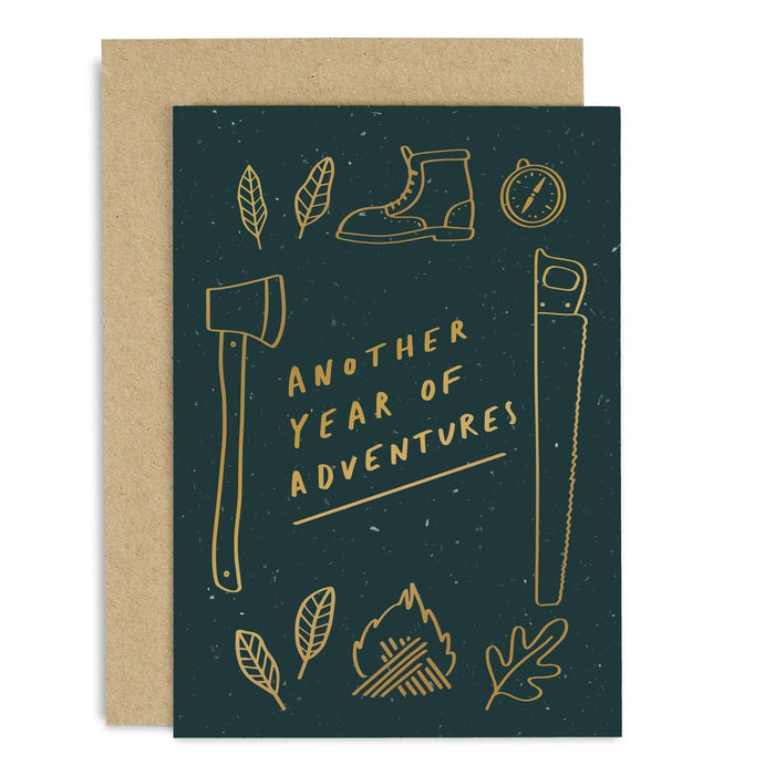 Year Of Adventures Copper Card