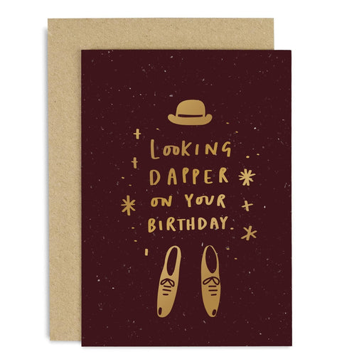 Looking Dapper Birthday Copper Card
