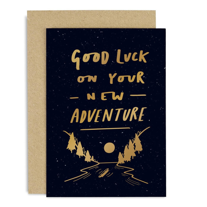 Good Luck Adventure Copper Card