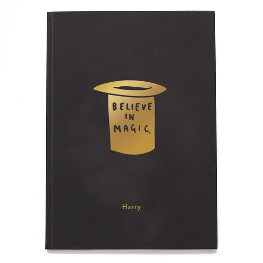 Magic Hat Personalised Notebook