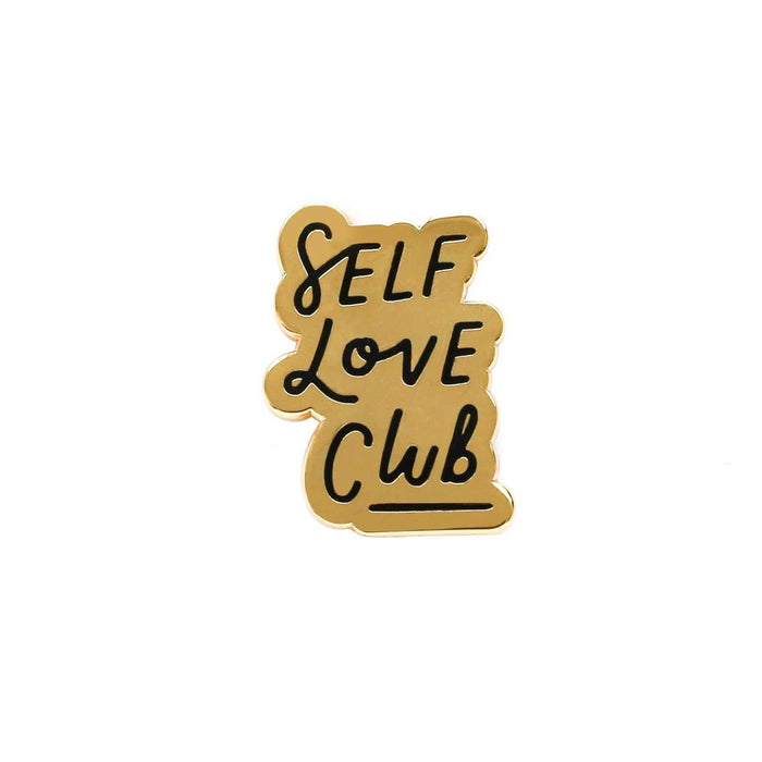 self love club enamel pin
