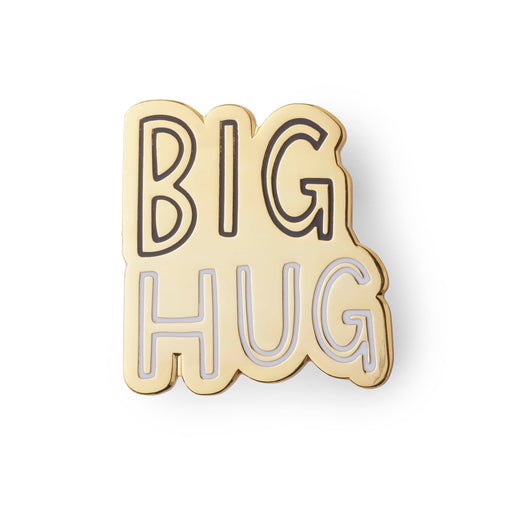 Bug hug enamel pin