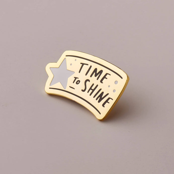 Time To Shine Star Enamel Pin