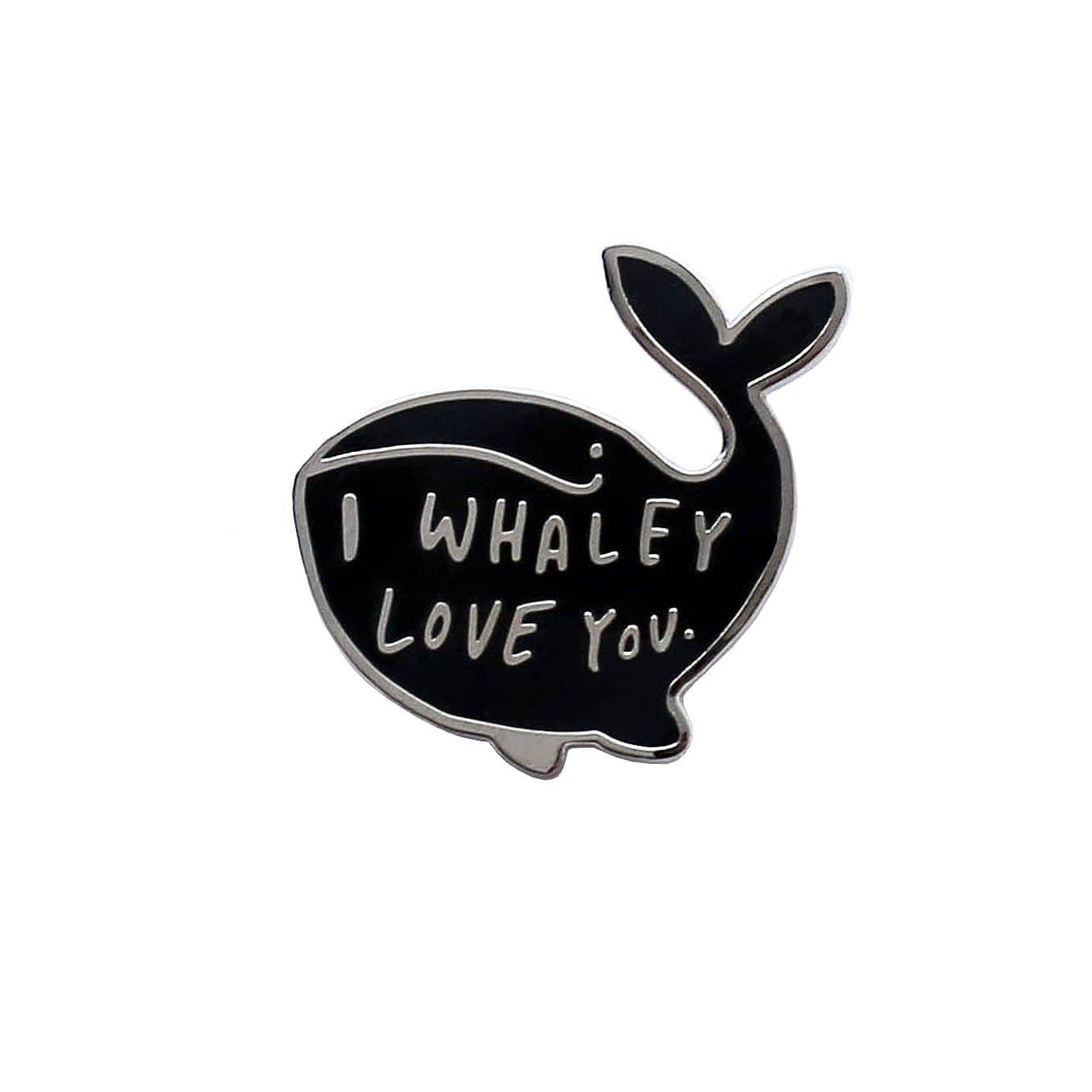 I whaley love you enamel pin