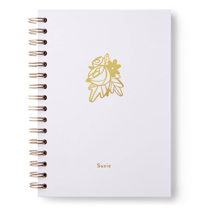 Flowers Hardback Notebook