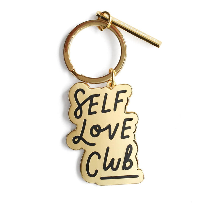 self love club keychian
