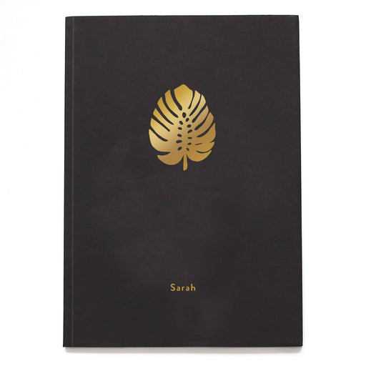 Monstera Personalised Notebook