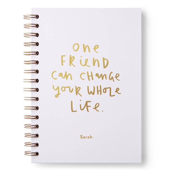 One Friend Hardback Notebook
