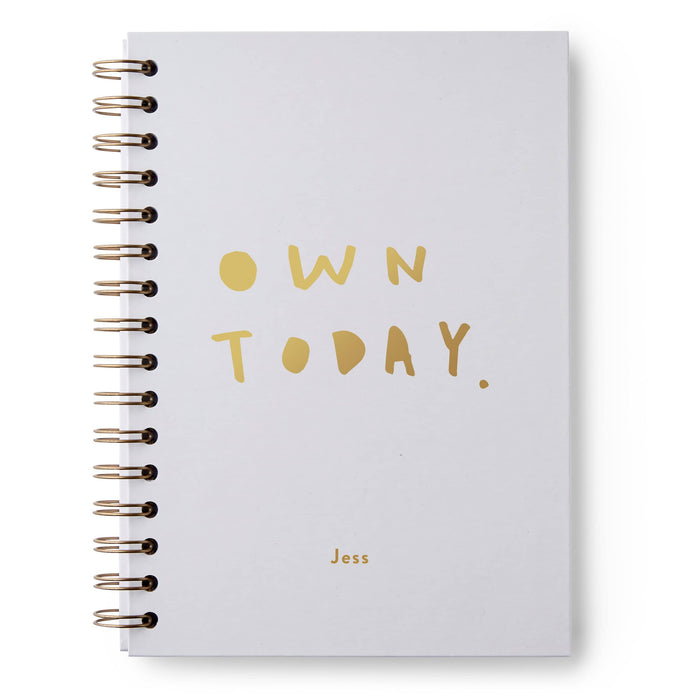 Own Today Hardback Notebook