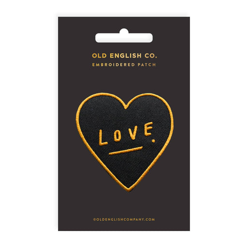 Love Heart Embroidered Patch