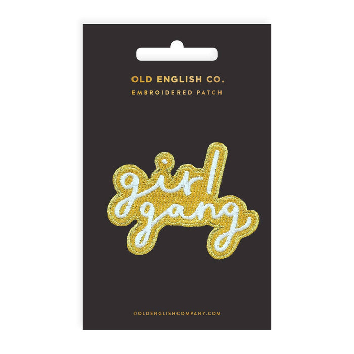Girl Gang Embroidered Patch