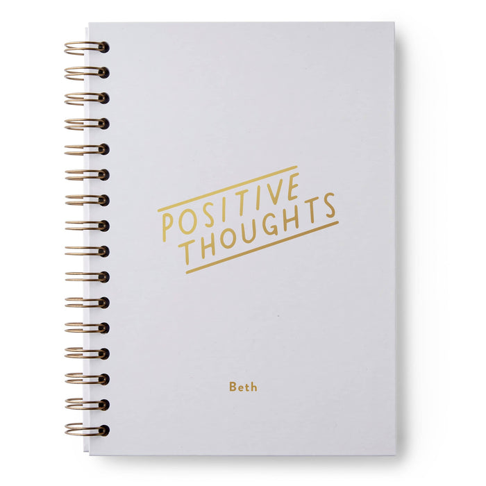 Positive Thoughts Hardback Notebook