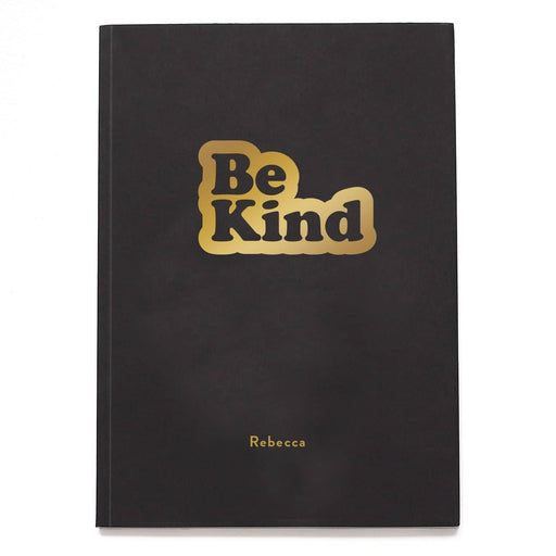 Be Kind Words Personalised Notebook