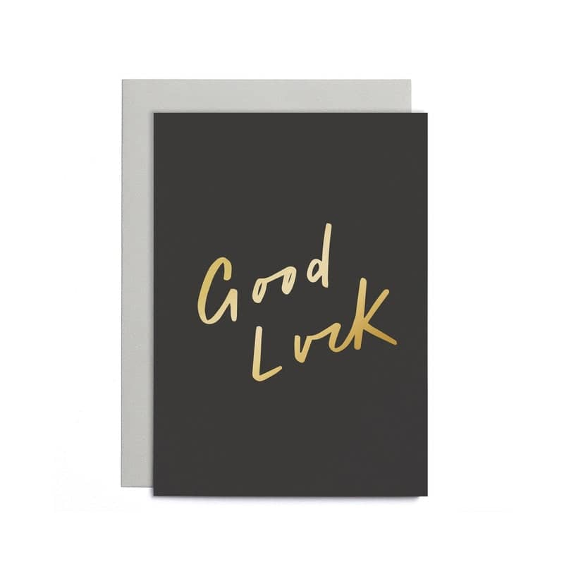 good luck small card