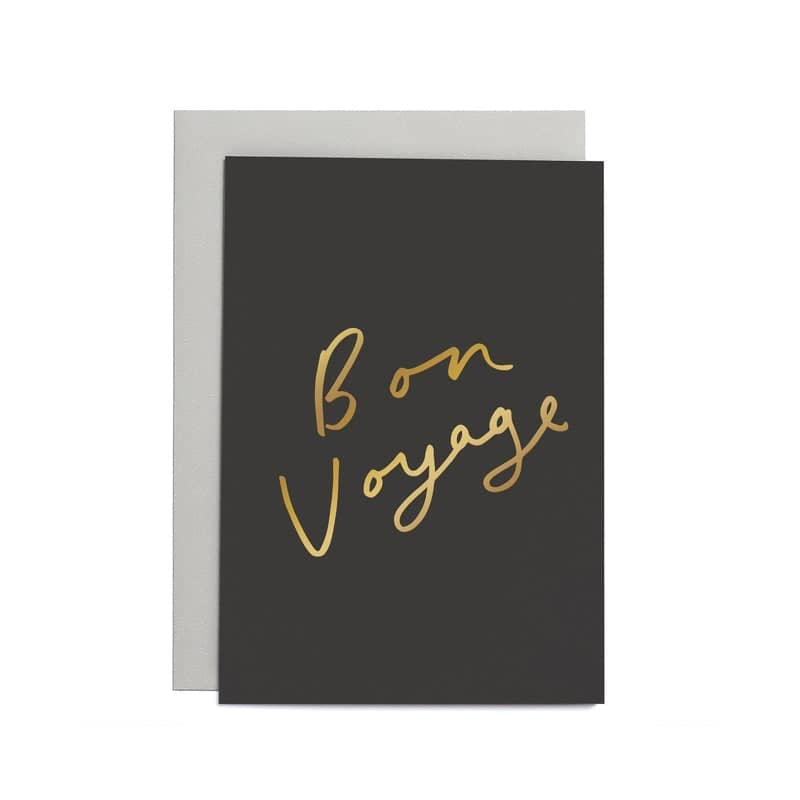 bon voyage small card