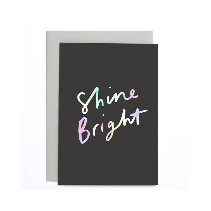 Shine Bright Small Card