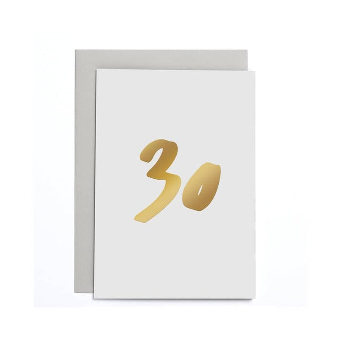 30th Birthday Small Card