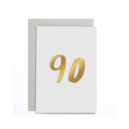 90th Birthday Small Card