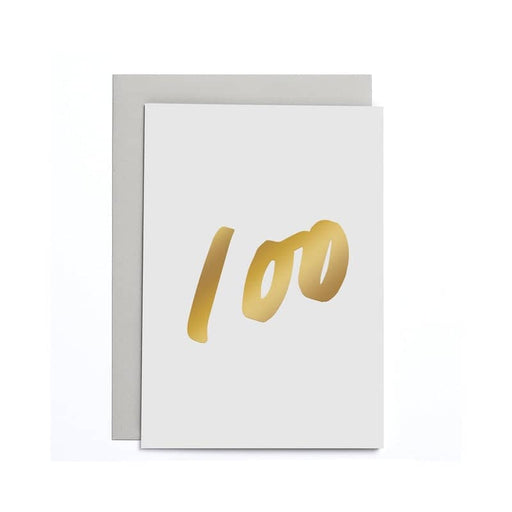 100 Small Birthday Card