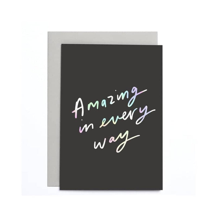 Amazing in every way Small Card
