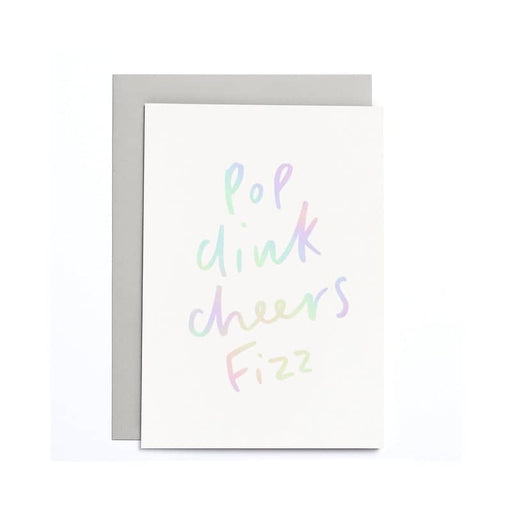 Pop Clink Cheers Small Card