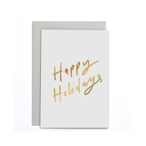 Happy Holidays Small Card