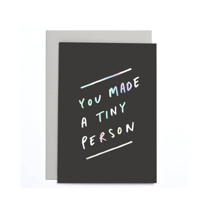 Tiny Person Baby Small Card