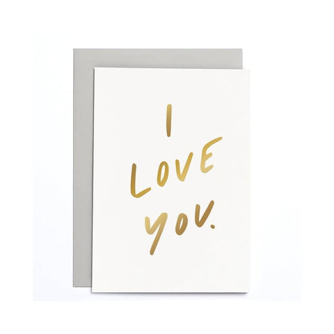 I Love You Small Card