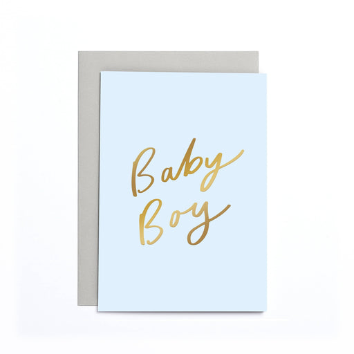 Baby Boy Blue Small Card