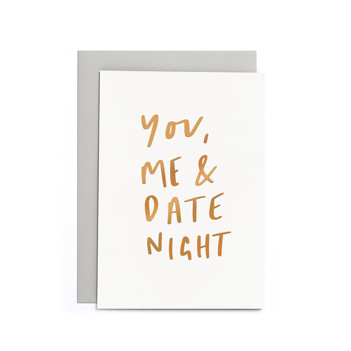 You, Me and Date Night Small Card