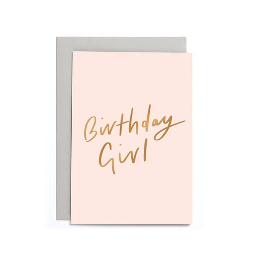Birthday Girl Small Card