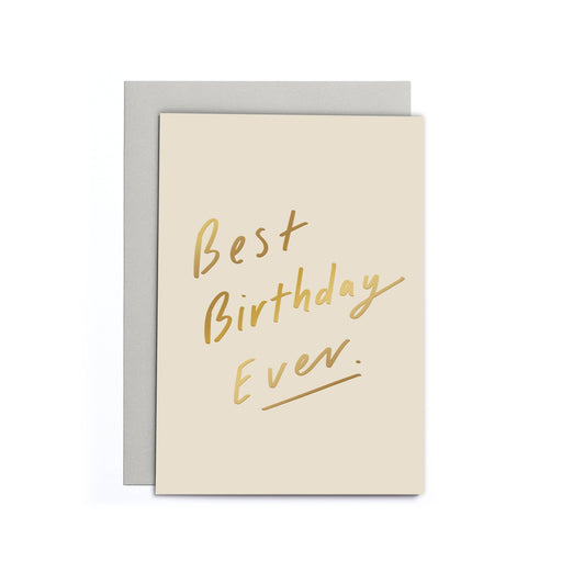 Best Birthday Ever Small Card