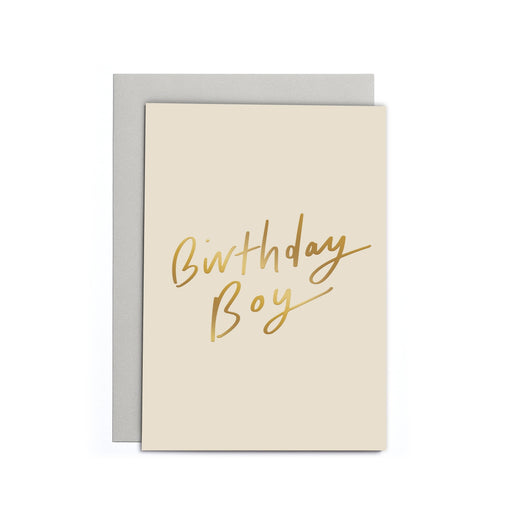 Birthday Boy Small Card