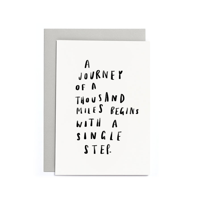 Motivational Quote Small Card