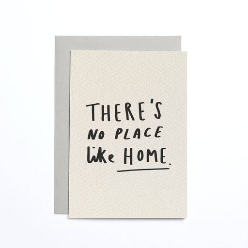 There's No Place Like Home Cream Small Card