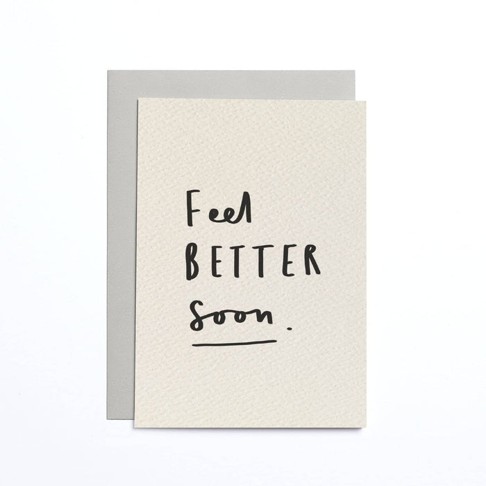 Feel Better Soon Cream Small Card