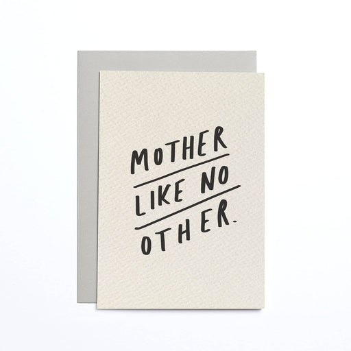 Mother Like No Other Cream Small Card