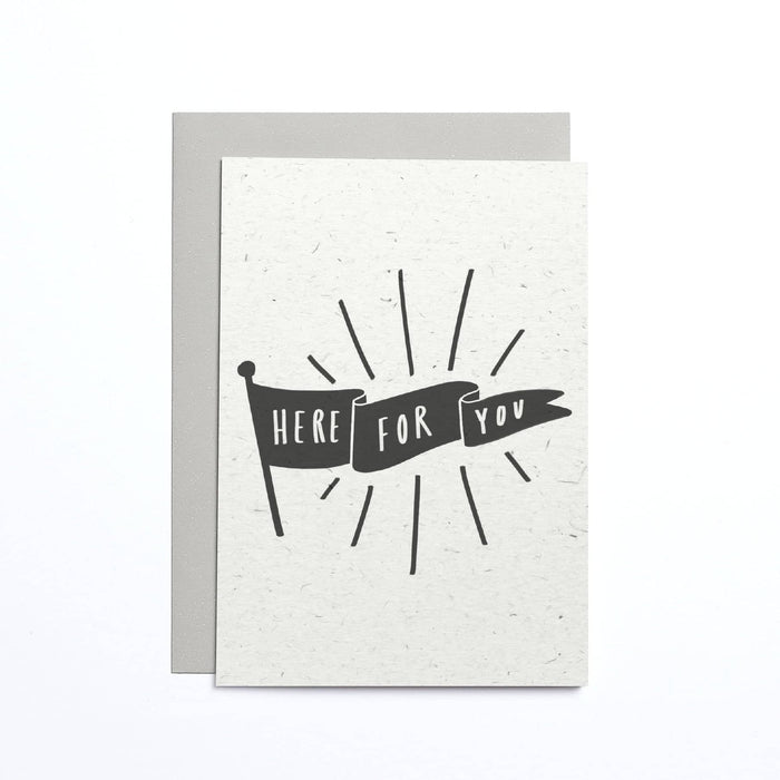 Here For You Flag Small Card