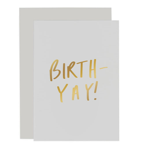 Birth-yay Sentiments Card