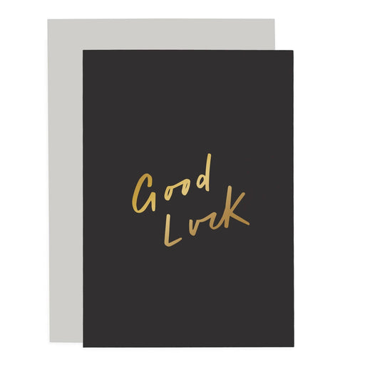 Good Luck Sentiments Card