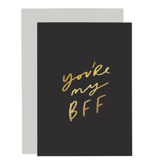 You're my BFF Sentiments Card