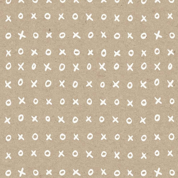 xoxo wrapping paper
