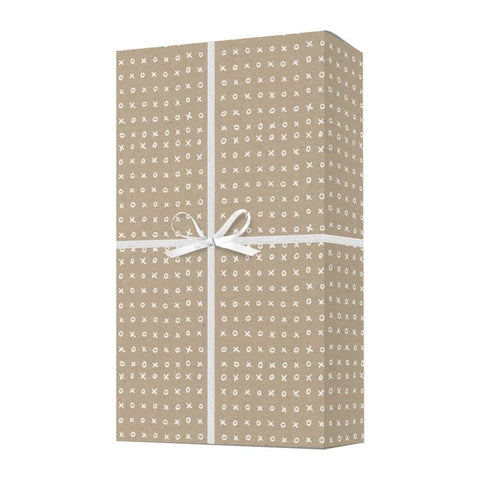 XOXO Typography Wrapping Paper