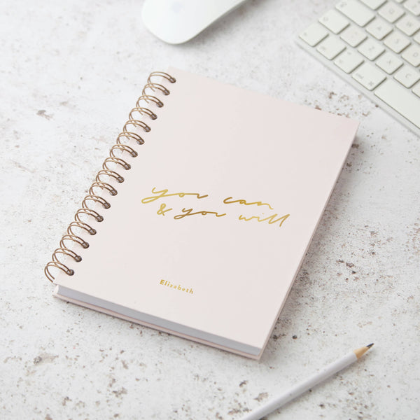 You Can and It Will Hardback Notebook