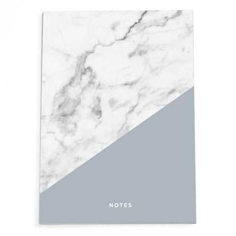 Marble A4 Notebook