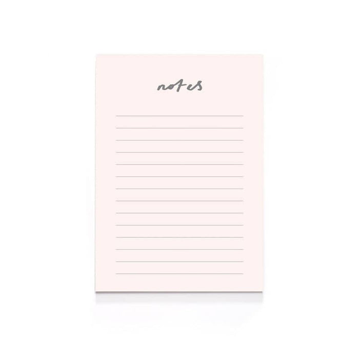 Blush Pink Notes A6 Notepad