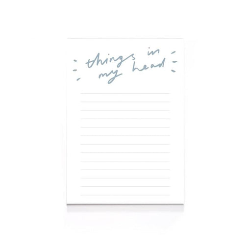 Things In My Head A6 Notepad