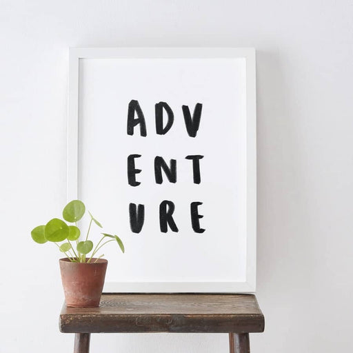 adventure travel print
